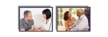 home care aide stock photos